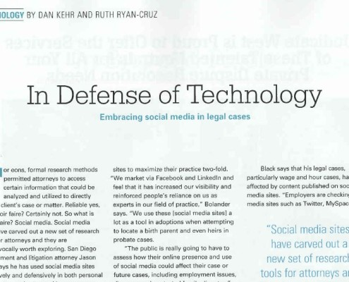 ryan_cruz_law_san_diego_attorney_legal_article_in_defense_of_technology_august_2012