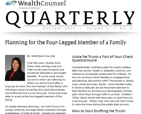 ryan_cruz_law_san_diego_attorney_legal_article_planning_four_legged_member_family_october_2012